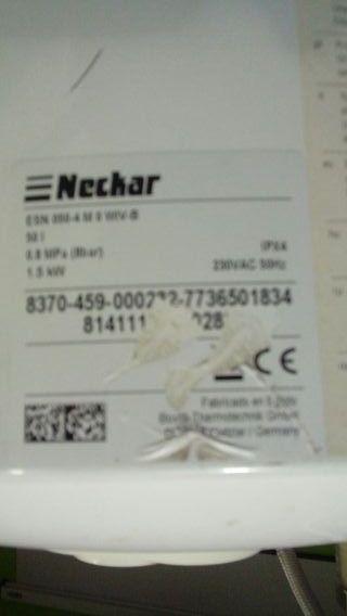 Termo calentador de agua Neckar