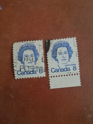 sello Canada 8