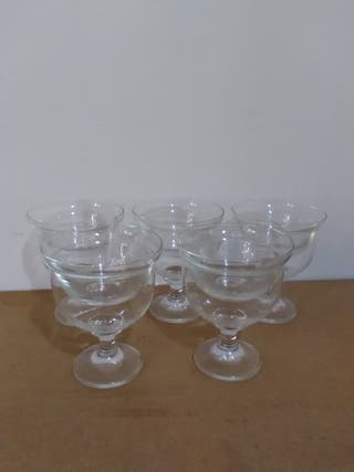 Copas cristal para coctel