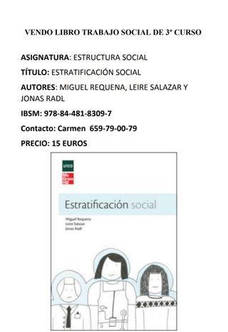 Estratificación social - Libro de texto UNED