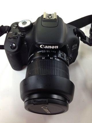 Cámara reflex Canon EOS600D