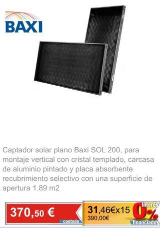 Colector solar Sol 200 BAXI