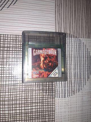Gameboy color Carmageddon