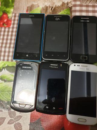 Moviles muy buen estado!Samsung,Black Barry,Nokia,