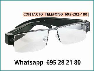 hcke Videocamara gafas espia
