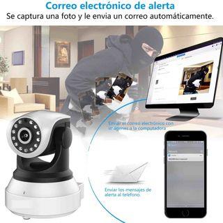 Cámara Vigilancia PRO 1080 WiFi V Nocturna NUEVA