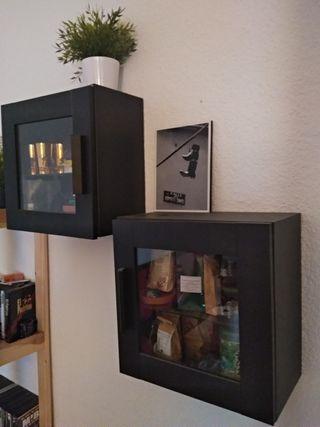 Armario de pared con vitrina Metod Ikea