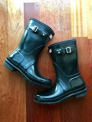 Botas HUNTER negras brillo T.40