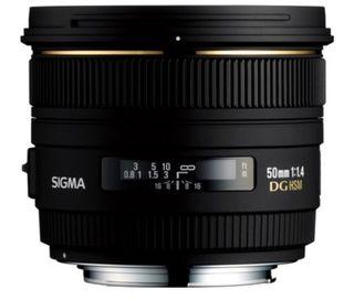 Objetivo Sigma 50mm 1.4 (para Nikon)