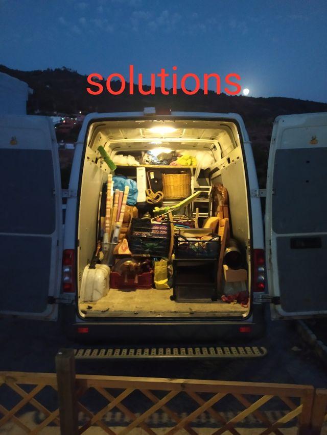 solutions, portes, mudanzas, desalojos