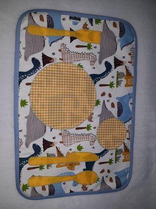 Mantel individual montesori