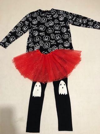 Conjunto Halloween o Carnaval( Zara, talla 10