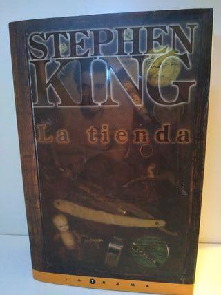Libro/ Novela/ Stephen King/ La tienda