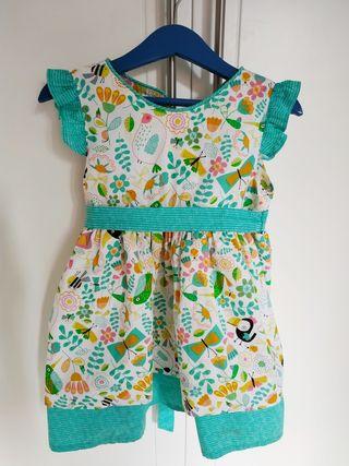 Vestido verano niña 2/3 años