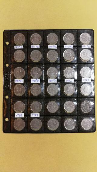 Lote Monedas 5 Pesetas años 70 y 80