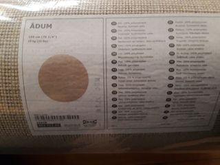 Alfombra circular ADUM (Ikea) 195cm. A estrenar