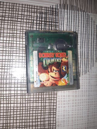 Gameboy color Donkey Kong Country
