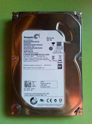 Disco duro Seagate Barracuda 500 GB