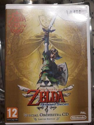 Zelda Juego Wii
