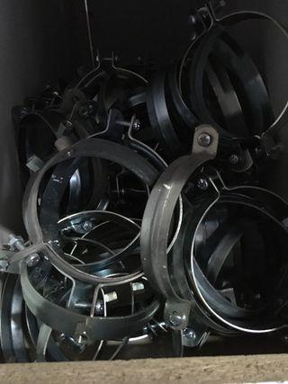 Abrazadera 125 mm m8