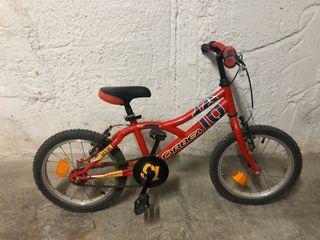 Bicicleta de 16 pulgadas Orbea