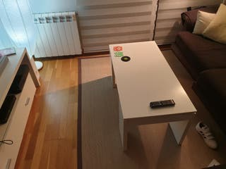 mesa de centro abatible extensible elevable