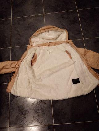 chaqueta impermeable niña
