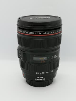 Canon EF 24-105mm f/4L IS USM+Filtros + Canon 450D