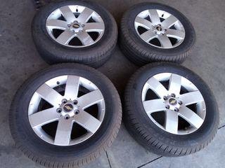 4 Llantas de Chevrolet Captiva de 17 pulgadas