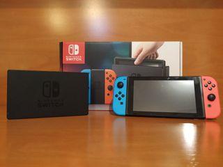 Nintendo Switch Neón *Funda Zelda BOTW de regalo*