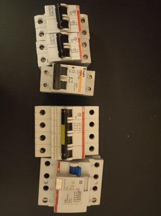 Magnetotermicos interruptores