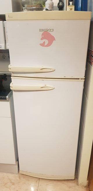 2 nevera con frigorífico