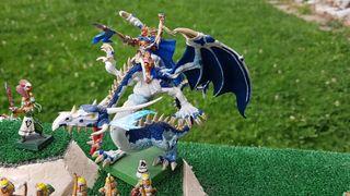 Dragon Altos Elfos Warhammer