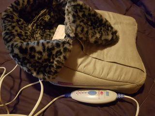 calentador de pies y masajeador