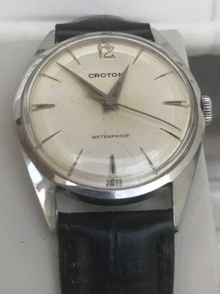 Reloj Croton Nivada vintage 1960