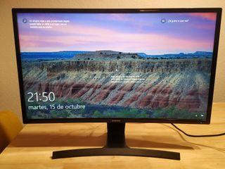 Monitor Samsung curvo de 27 pulgadas Full HD
