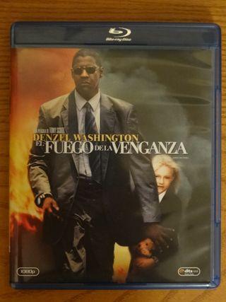 Bluray El fuego de la venganza impecable.