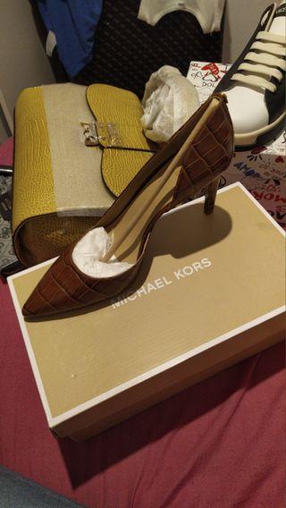 verdo zapato de marca
