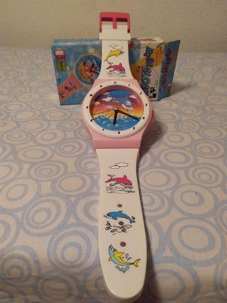 Reloj infantil pared