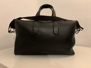 Bolsa de viaje negra Calvin Klein