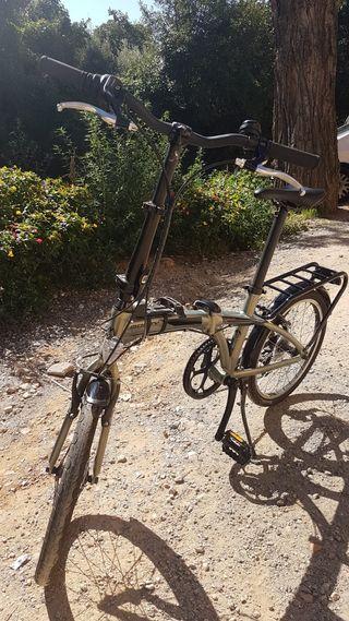 Bicicleta plegable Monty casi nueva