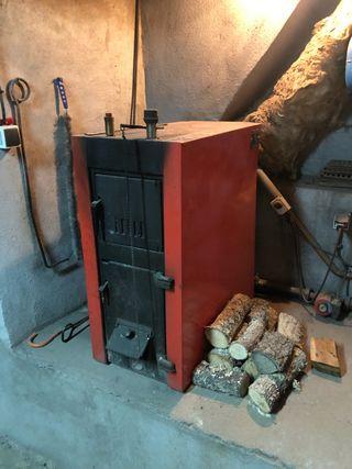 Caldera de leña y carbon Roca NL-20-9
