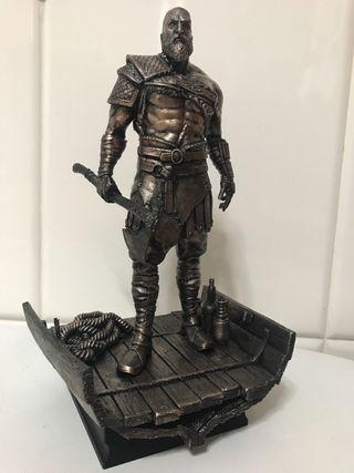 Figura de Kratos de bronce God of War