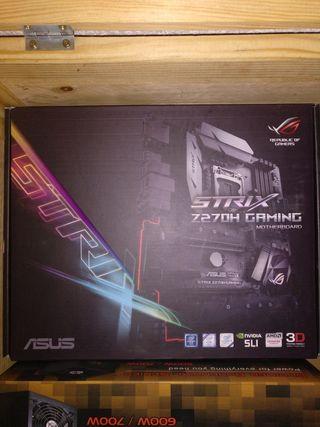 placa Asus strix Z270H + Intel i7 6700 + 16 GB RAM