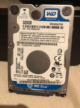 Disco duro hdd 320gb