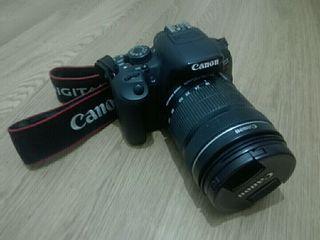 Cámara de fotos reflex Canon Kiss x7i