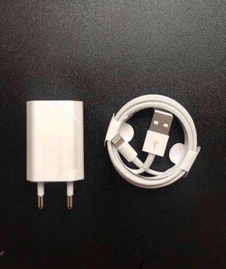 Cable + Enchufe Cargador iPhone Original Apple