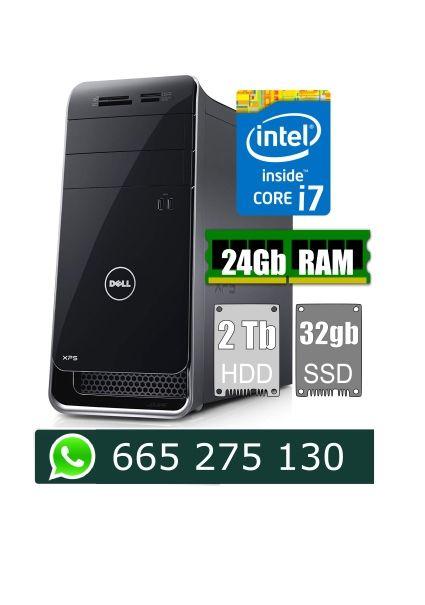 PC Dell i7 RAM 24Gb