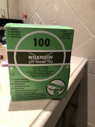 30 Cuchillas Wilkinson