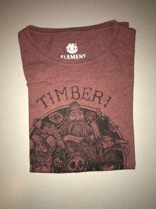 Camiseta element timber